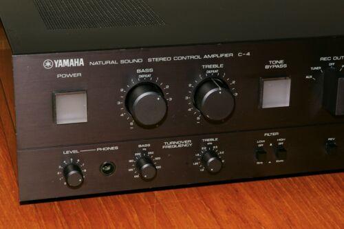 Yamaha C-4 Preamplifier