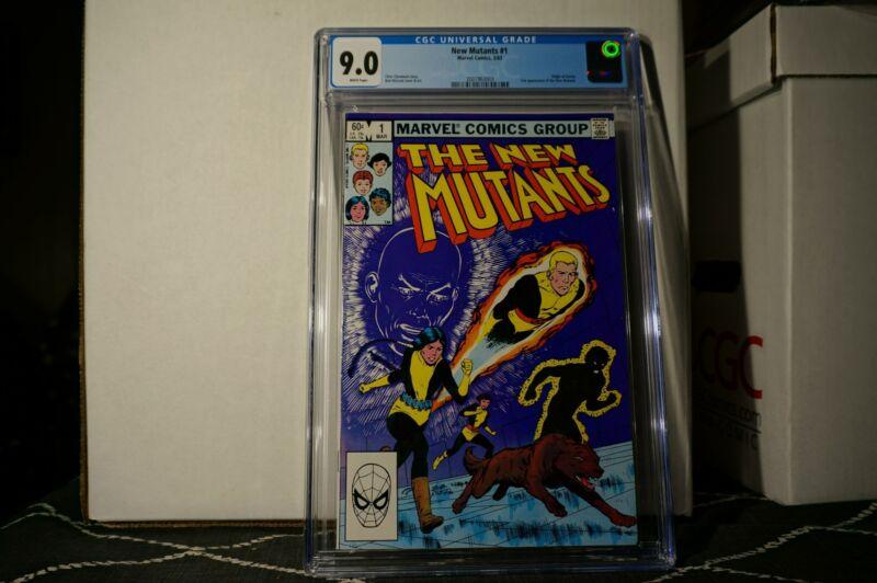 😲 The New Mutants #1 CGC 9.0 🔑