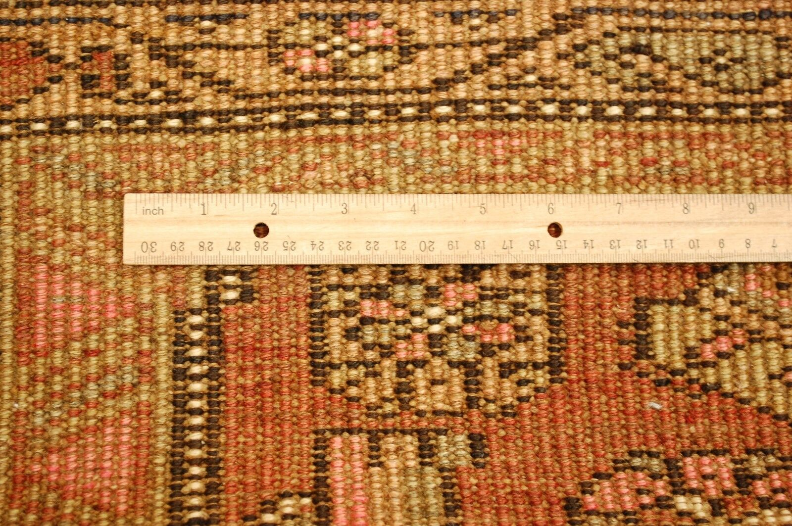 c1920s ANTIQUE CLASSIC VILLAGE WOVEN PERSIAN BIJAR HALVAI RUG 4x9.3 ALL WOOL