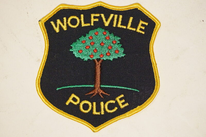 Canadian Nova Scotia Wolfville Police Patch