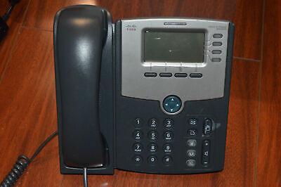 Unlocked Cisco Linksys SPA504G SPA 504G 4-line SIP IP Phone W/ Desk Stand Cisco Corded Telephone