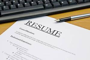 Resume and Cover Letter Tailored for You Brisbane City Brisbane North West Preview