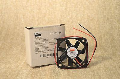 Dayton 2rtf2 Dc Axial Fan - New - 5v 5 V Volt .16a .16 A Amp .8w 12 Leads