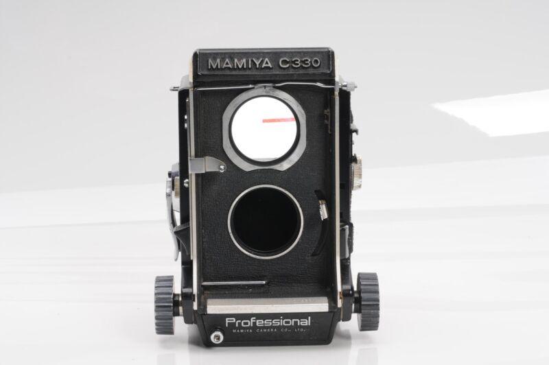Mamiya C330 TLR Medium Format Camera Body Twin Lens Reflex                  #581