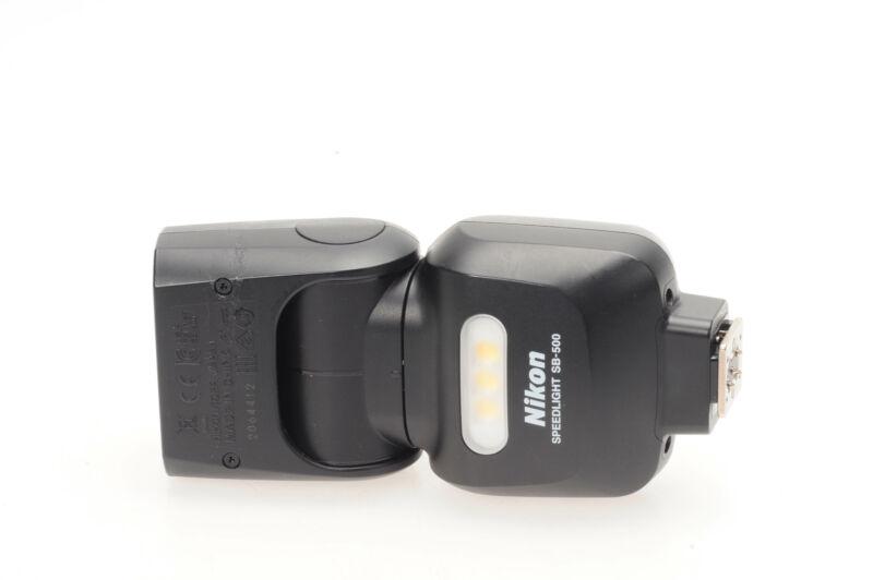 Nikon SB-500 Speedlight TTL Flash SB500                                     #412