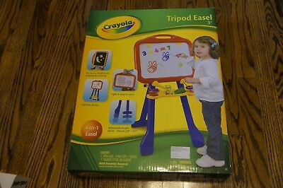 Brand New - Crayola 4-in-1 Tripod Easel with 77 Magnetic Letter and Numbers