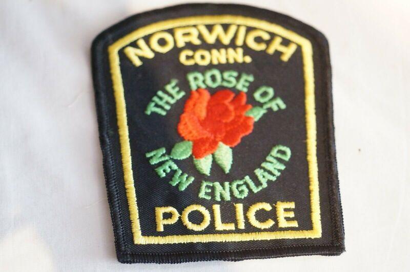 US Norwich Connecticut Police Patch