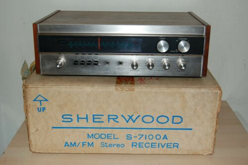 Vintage Sherwood S-7100A AM/FM Stereo Receiver - Near Mint !!!