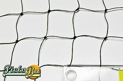 Teichnetz Netz Teichschutznetz  6 m x 25 m   Masche 5 cm Volierennetz oliv