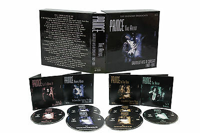 Prince   The Artist  Greatest Hits In Concert Live 1982 1991  6 Cd Box Set