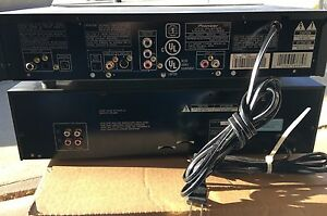 Pioneer DVD player and Kenwood Dual Cassette Strathcona County Edmonton Area image 2