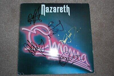 Nazareth - Cinema (vinyl album) Fully Autographed 1986 classic rock comprar usado  Enviando para Brazil