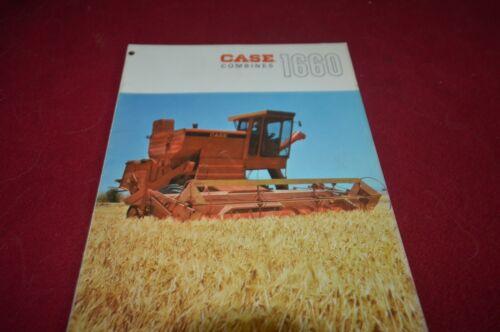 Case Tractor 1660 Combine Brochure FCCA