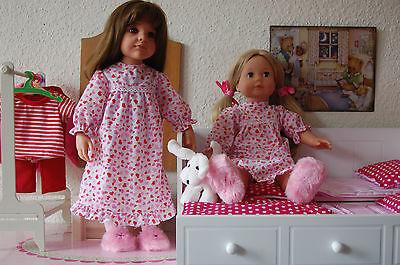 Puppenkleidung Nachthemd für 46-50cm Stehpuppen