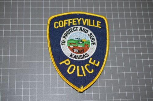 Coffeyville Kansas Police Department Patch (B17-T)