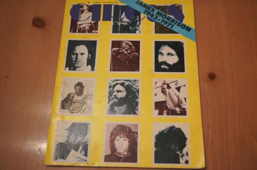 VINTAGE 1971 CIRCUS MUSIC MAGAZINE JIM MORRISON MEMORIAL EDITION