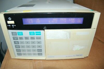 Hitachi L-7400  Uv Detector Hplc Chromatography Liquid Lc L7400