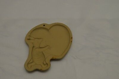 Big Brown Bag (Vintage Brown Bag Cookie Art Big Hearted Piglet Ceramic Cookie Mold Pooh Disney)