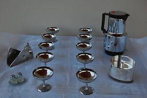 10-Calici-iinox-18-10-1-Caraffa-1-formaggiera-1-porta-tovaglioli-1-set