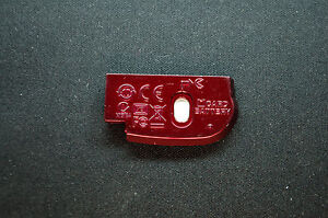 Nikon Coolpix L22 Battery Chamber Unit Cover Door Red Ebay
