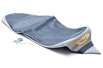 SEAT COVER TRIUMPH T20 TIGER CUB DARK AND LIGHT GREY UK MADE