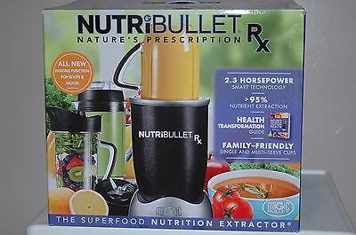 NEW IN BOX NutriBullet Rx 1700-Watt Blender Mixer SHIPS TO PR, HI, APO for sale  Baltimore
