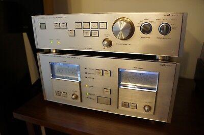 Luxman M 05 Class A Power Amplifier    Luxman C 05 Class A Preamplifier