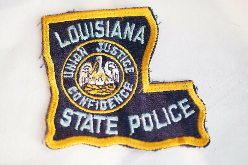 US State Police Louisiana Police Patch 2