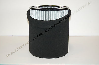 127357e004 Quincy Air Intake Filter Element Replacement Part