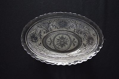 Anchor Hocking Sandwich Glass Oval Serving Dish