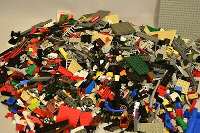 Genuine Lego Bundle Mixed 1 Kg -1000g Bricks Parts Pieces Bulk 1 Kilogram