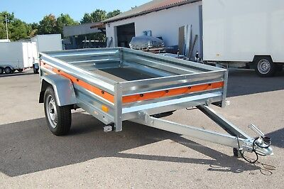 PKW-Anhänger 210 x 125 cm | 750 kg |205cm |EXTRABREITE 125cm|Kastenanhänger