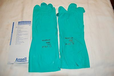 Ansell 37-200 Chemical Resistant Gloves Size 11 12 Pairs