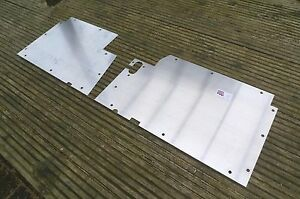 Land Rover Military Lightweight  Floor Plates / Panels