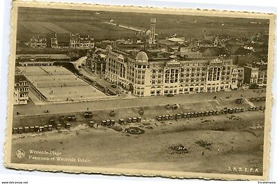CPA - Carte postale-Belgique-Westende Panorama et Westende Palace 1948 (CP3465)