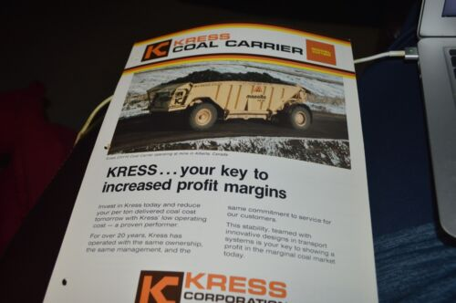 Kress CH120 Coal Carrier Dealer