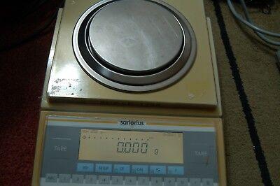 Sartorius Lp1200s Analytical Lab Scale Digital Balance Delta Range 1 Mg
