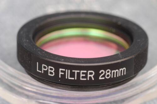 LPB  ASTRONOMY LIGHT POLLUTION BLOCKER FILTER 28MM, FOR BRANDON EYEPIECES?