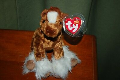 HOOFER the Clydesdale HORSE  - Ty Beanie Baby - MWMT - Fast Shipping for sale  Shipping to Canada