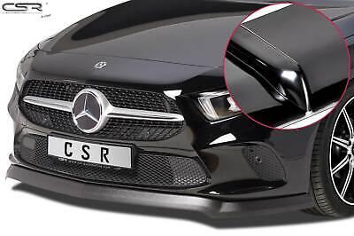 Frontspoiler Frontansatz Lippe für Mercedes A-Klasse W177 Glossy Schwarz