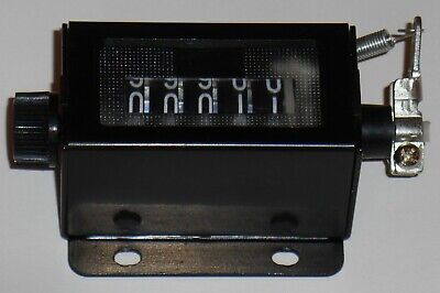 6 Digit Resettable Mechanical Pulling Count Counter