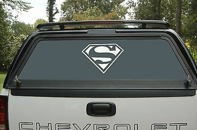 Superman Comic Logo Vinyl Decal Sticker Car Window Hood 75057z](Superman Logo Stickers)