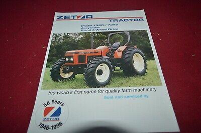Zetor 7320 7340 Tractor Dealers Brochure AMIL15  na sprzedaż  Wysyłka do Poland