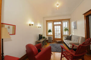 2 bedroom + den Outremont / Mile End (heating / hot water includ