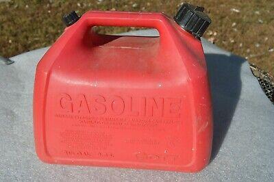 Vintage 2 12 Gallon Rubbermaid Gott 1226 Gas Fuel Can Pre-ban Vented