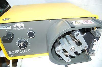 Watson Marlow Ip55 604s Washdown Peristaltic Pump Digital Wm Preparative Prep