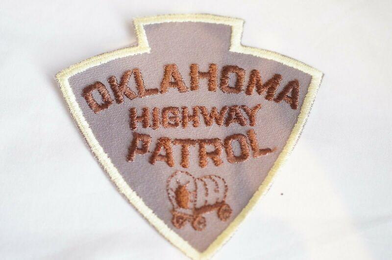 US Highway Patrol Oklahoma Police Patch 2