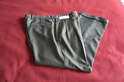 NWT Ralph Lauren Mens 34x30 Dress Pants Modern Fit Brown Glen Plaid