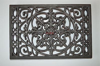 Beautiful Victorian design cast iron trivet kitchen cooking pot holder mat TV1