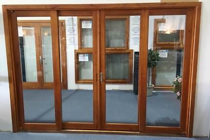 Cedar Sliding Door-4 Panels-2950x2100